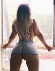 Short Shorts On A Big Booty