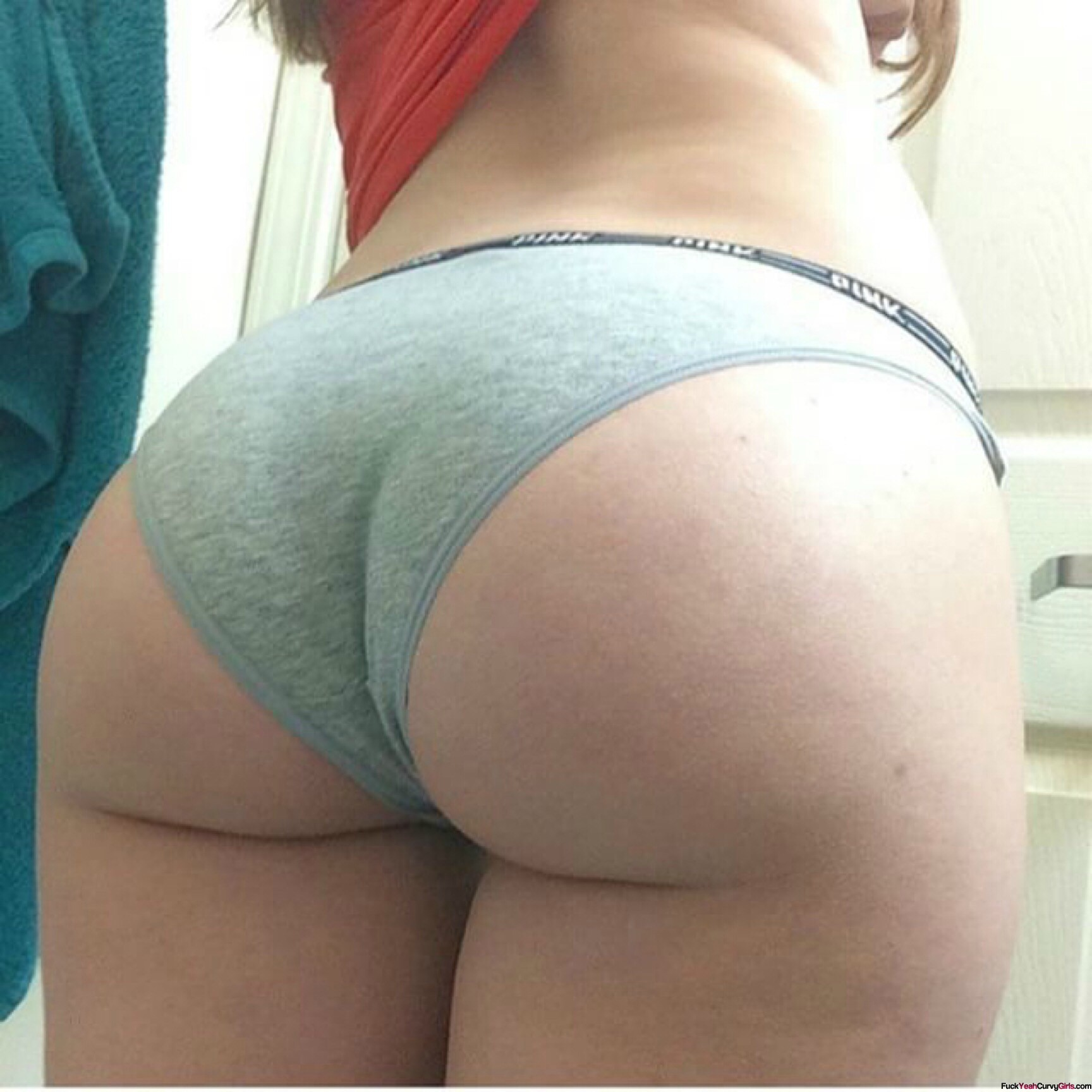 Abstract thinking Hot white girl ass selfie for that