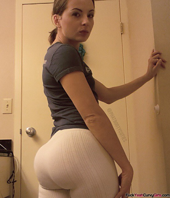 Big ass on yoga pants