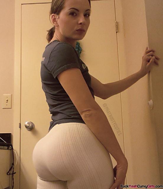 Fat ass yoga pants