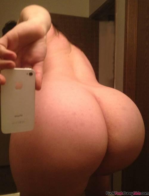Girls nude selfie bubble butt