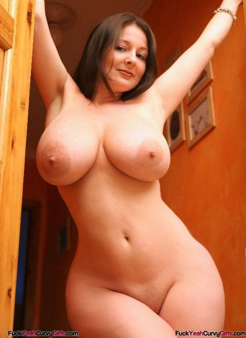 Sexy nude girl big boobs wide hips that