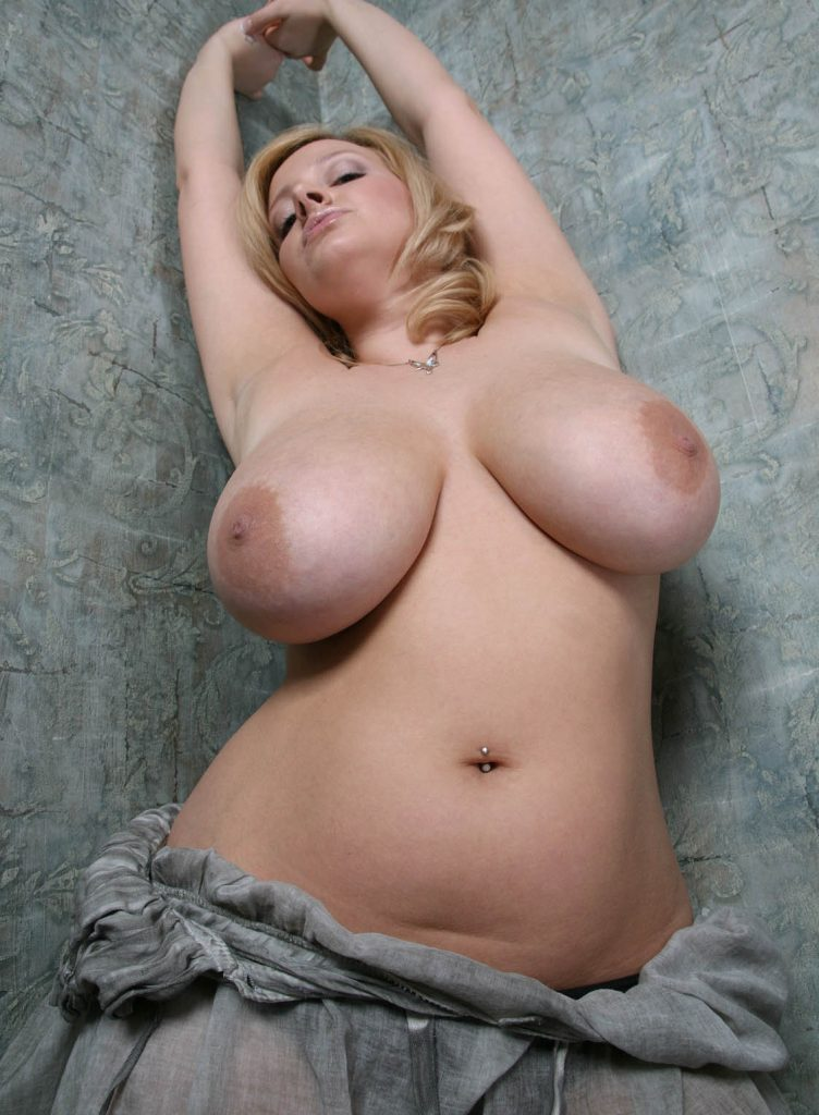 Girl with big natural tits
