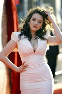 Curvy Beauty Kat Dennings