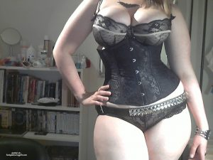 Delicious Curvy Girl In A Corset