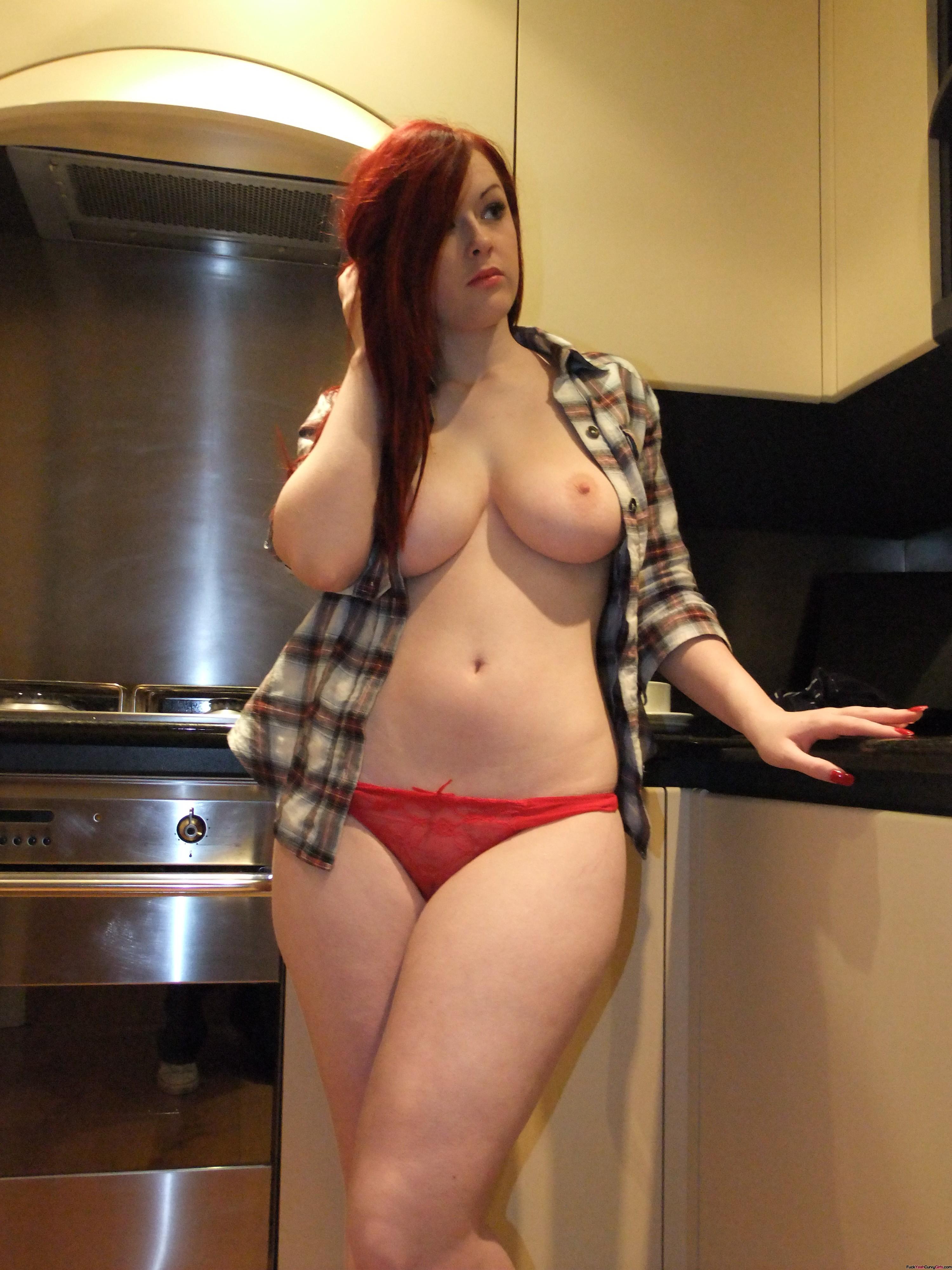 Redhead Beauty Jaye Rose  Fuckyeahcurvygirls-4593