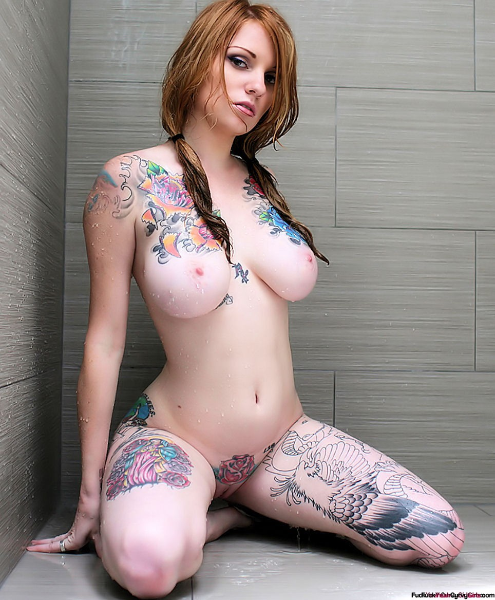 Opinion you sexy girls with tatoos on breast porn