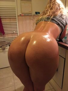 Oiled Big Booty