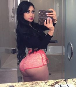 Sexy Arab In Booty Shorts