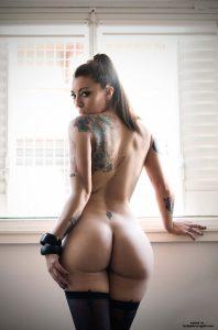 Sexy Thick Tattooed Girl