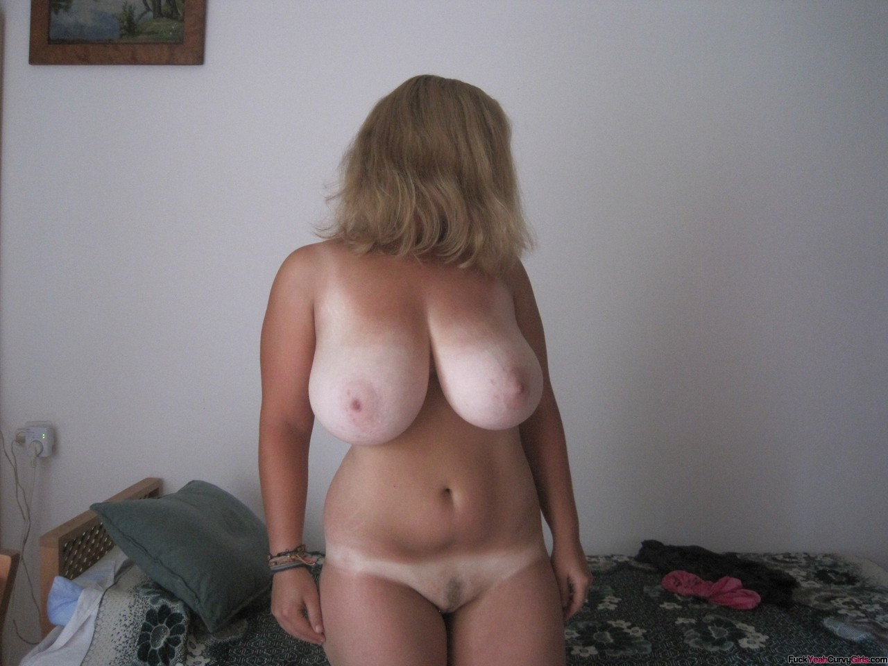 Big Natural Chubby Tits