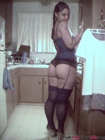 hot naked woman bent over and masterbating