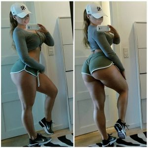 Thick And Fit Selfie
