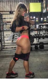 Bubble Butt Gym Ass