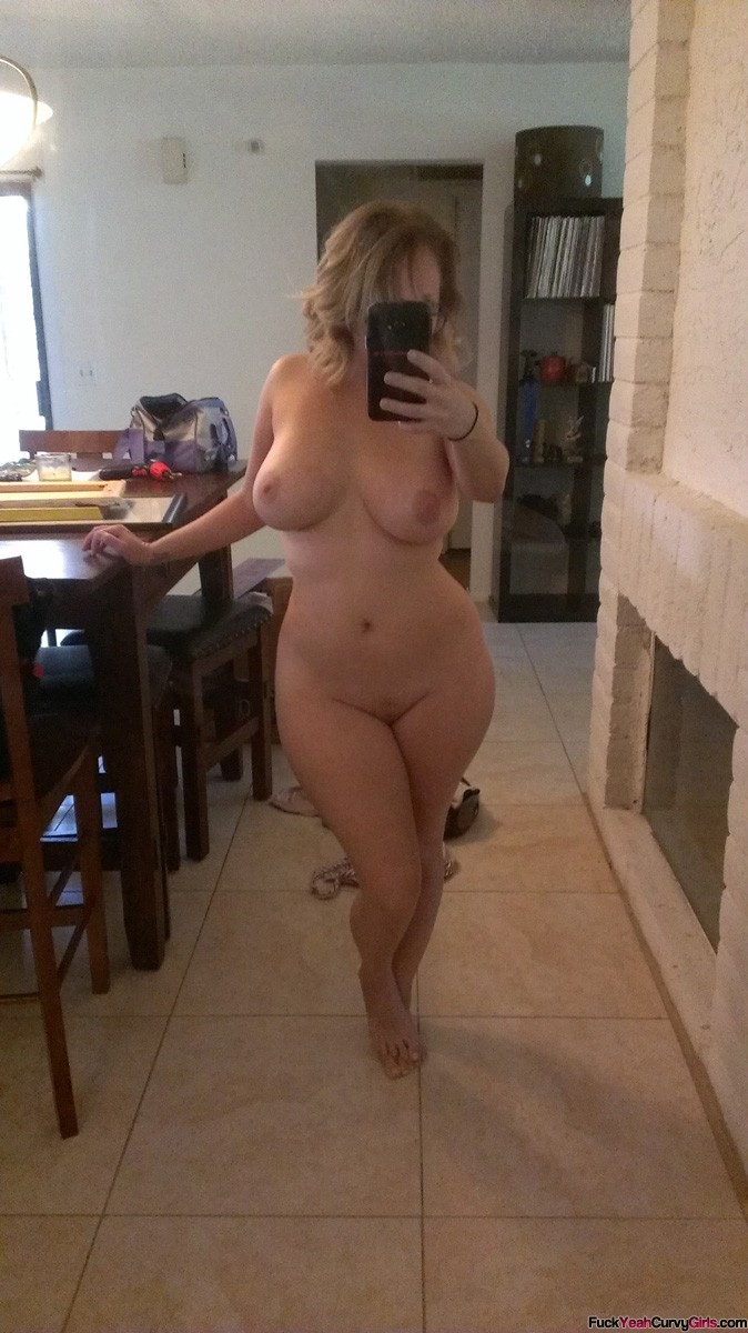 selfies Thick amateur nude