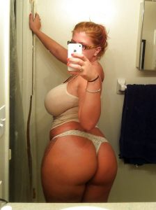 Thick Curvy Girl Selfie