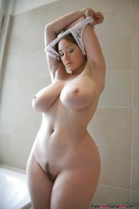 Thick Girl With Big Natural Boobs