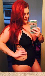Thick Redhead Selfie