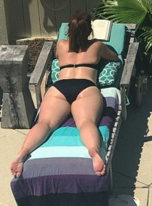Thick Thighs At The Pool