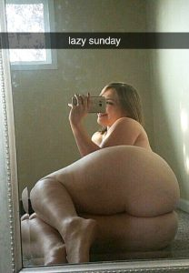 Thick Thighs And Ass Selfie